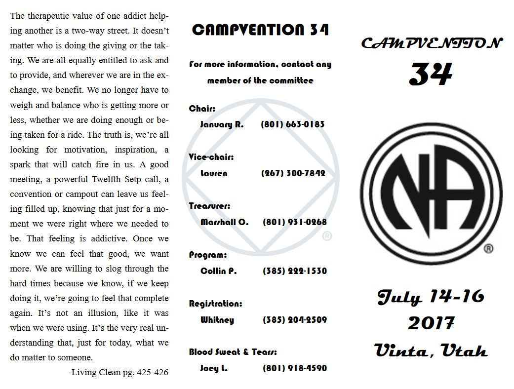 campvention flyer