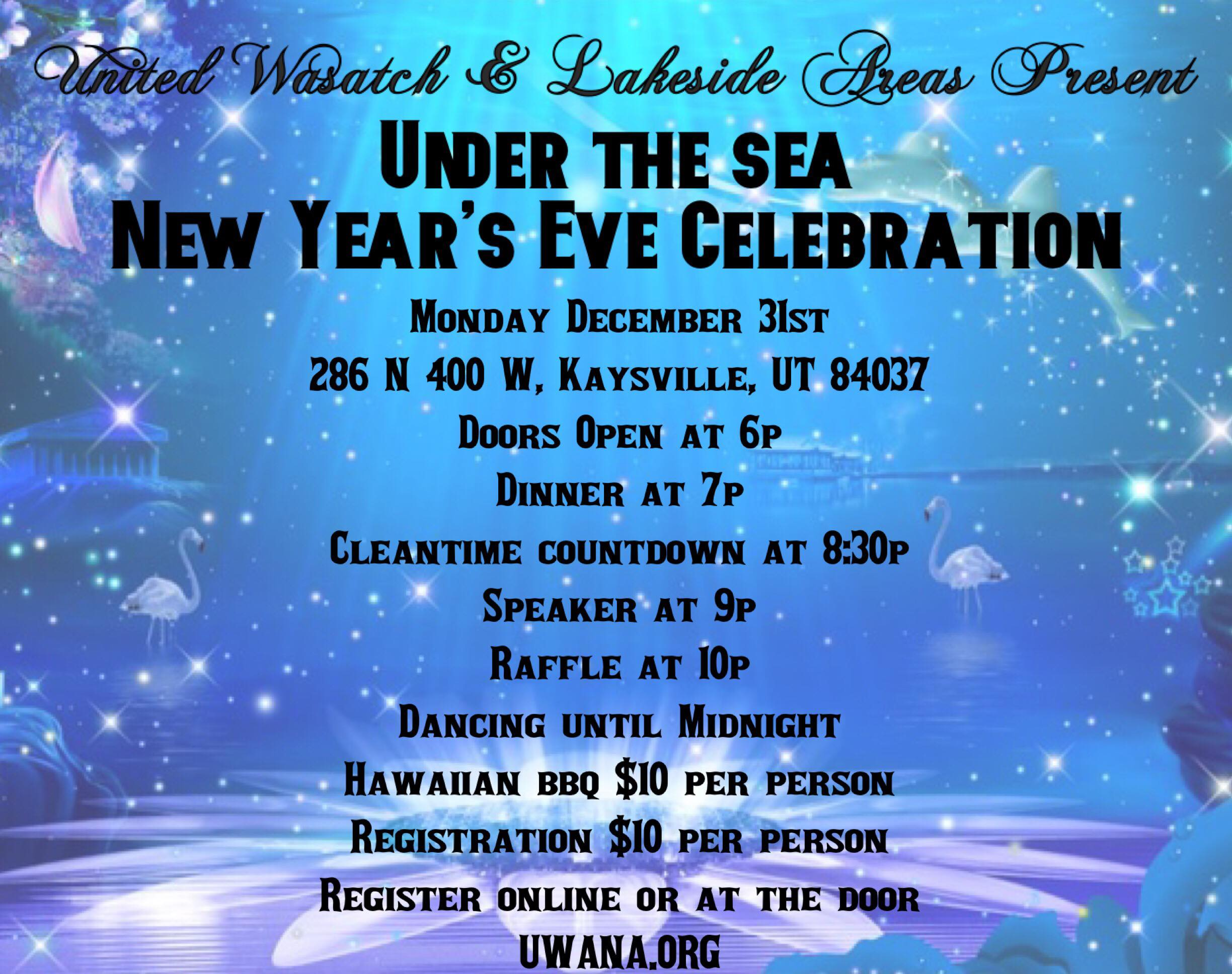 New Year's Eve Dance flyer